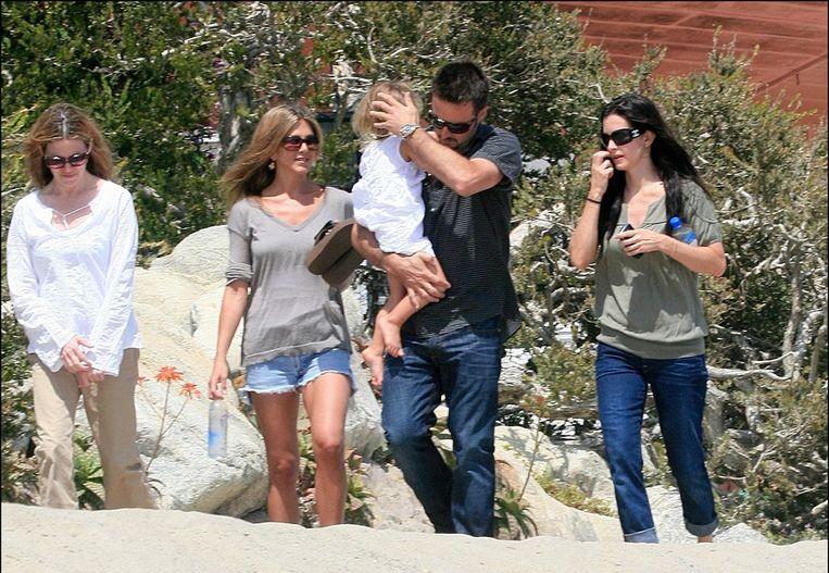 Jennifer vindt dat Courteney met de gevoelens van David Arquette speelt Beeld UNKNOWN