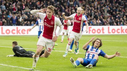 Titelstrijd in Eredivisie blijft spannend na zeges van Feyenoord en Ajax