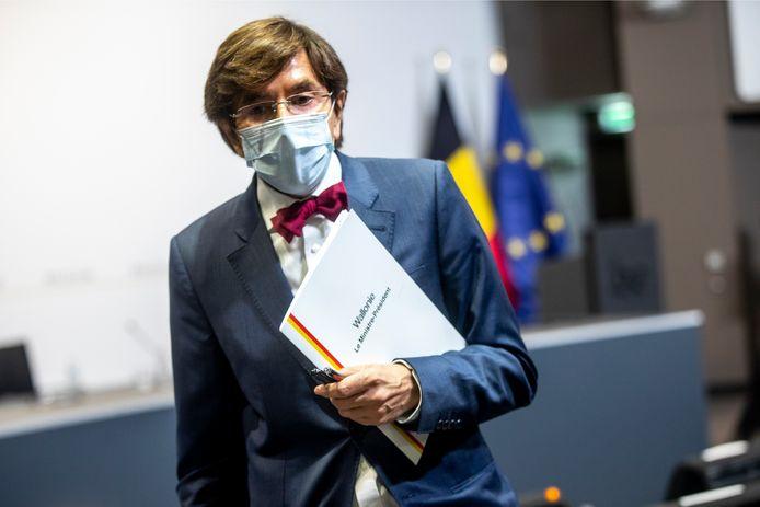 Le ministre-président wallon, Elio Di Rupo