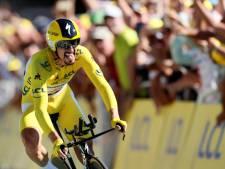 Julian Alaphilippe surprend tout le monde au contre-la-montre et conforte son maillot jaune