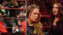 'Sterkste vrouw ter wereld' gooit grote baas van WWE op tafel en krijgt slag in gezicht van diens vrouw