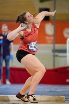 Velpse Benthe baalt van weer brons op NK atletiek: 'Raakte gefrustreerd'