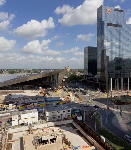 Bouw Rotterdam CS succesvol dankzij sensors