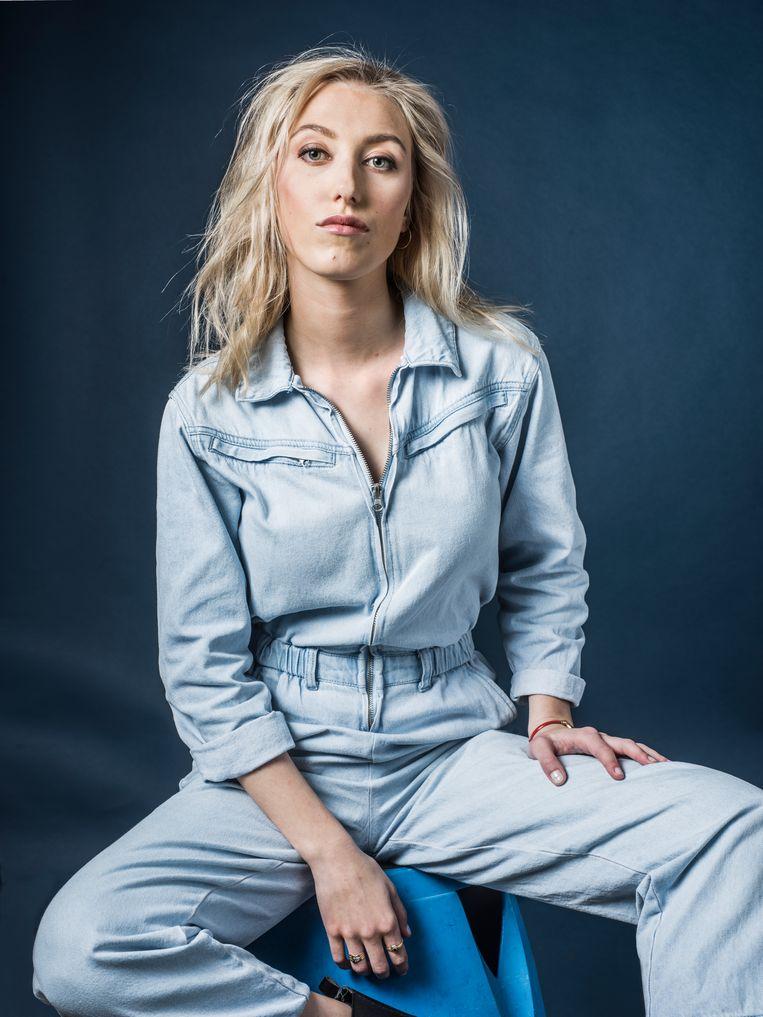 Alina Churikova: 'Ze hadden mij op het hart gedrukt: blijf weg van Twitter en consorten. Ik heb dat ter harte genomen, en ik heb elke avond als een roos geslapen.' Beeld Johan Jacobs