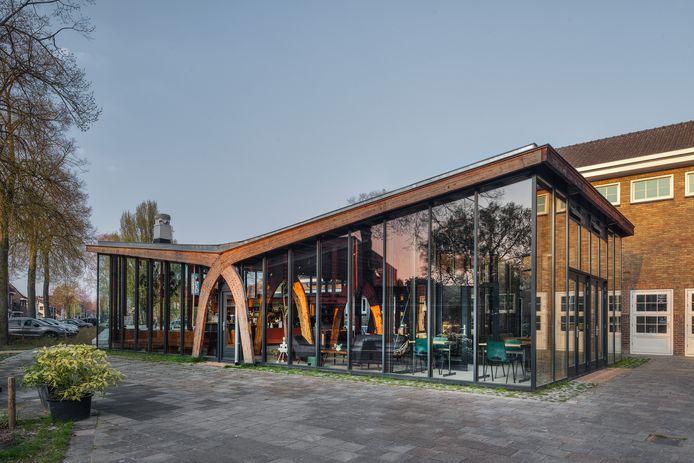 Paviljoen KEVN is genomineerd voor de Dirk Roosenburgprijs 2021 in Eindhoven.