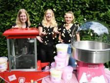 Donatie voor gestolen suikerspinmachine: 'Hadden gehoopt dat machine voor de deur zou worden gezet'