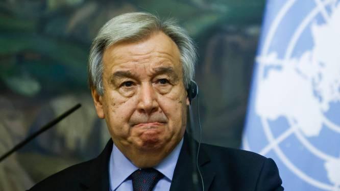 """VN-secretaris-generaal Guterres: """"Wereld staat op drempel van nieuw tijdperk"""""""