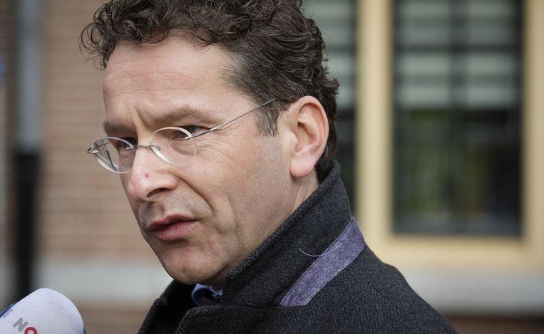 Minister Jeroen Dijsselbloem van financiën. Beeld anp