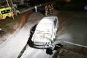 Ravage op de weg in Rijsbergen.