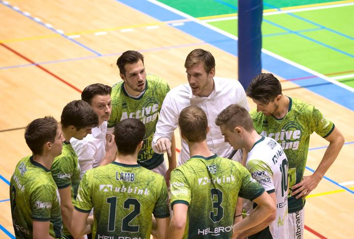 De volleybalcompetitie in de eredivisie is per direct beëindigd vanwege het coronavirus.