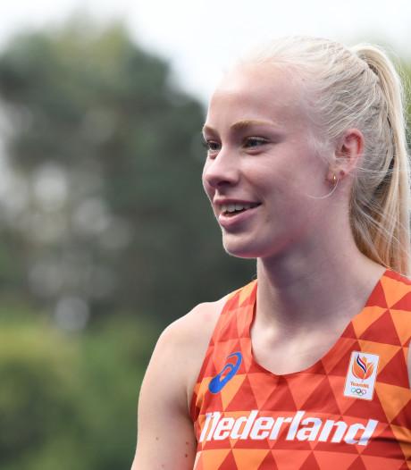Die WK-limiet op de 100 meter gaat er nog wel komen, weet de Apeldoornse Marije van Hunenstijn zeker