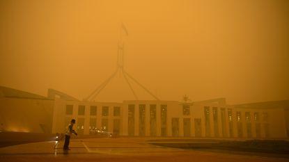 Luchtkwaliteit nergens ter wereld slechter dan in Australische hoofdstad door bosbranden