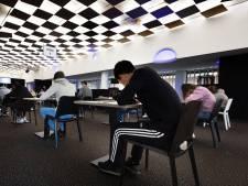 Weer toetsen in Muziekgebouw Eindhoven: ditmaal niet door muzikanten maar door scholieren Van Maerlant