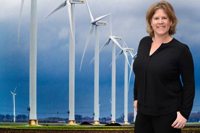 Columniste Daniëlle Pels is geen voorstander van windmolens.