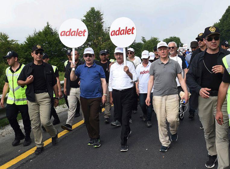 De Turkse oppositieleider Kemal Kiliçdaroglu. Beeld AP
