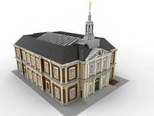 Wie helpt Schiedamse bieb na te bouwen van 35.000 Legostenen?
