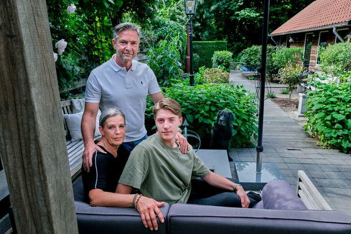 Het huis van Rob Klunder en zijn gezin, aan de Nieuwe Hoven in Gorinchem.