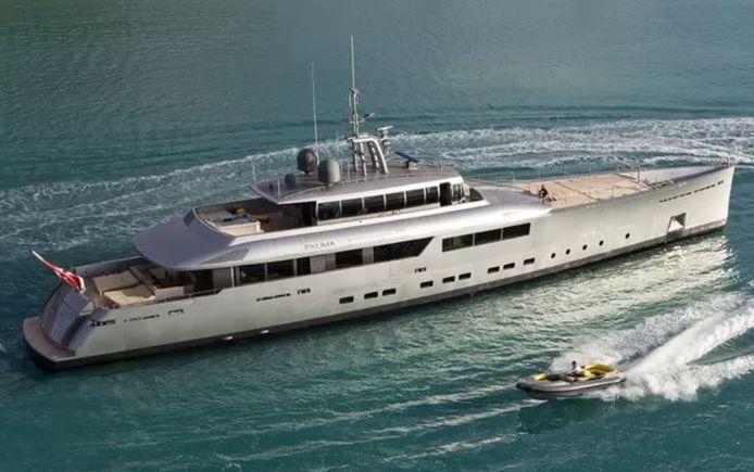 Le Belge le plus riche met en vente son yacht de luxe, l'Exuma.