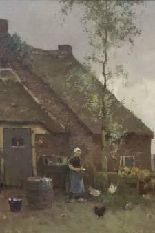 Schilderijen uit regio op verkooptentoonstelling