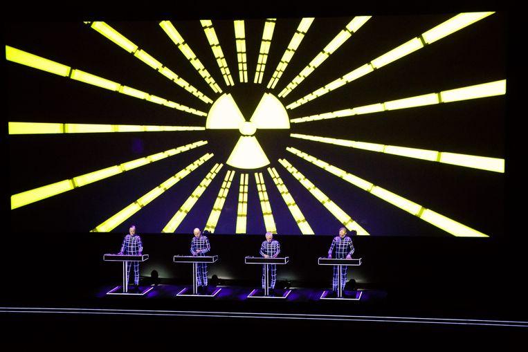Kraftwerk  Beeld Gonzales Photo/Peter Troest
