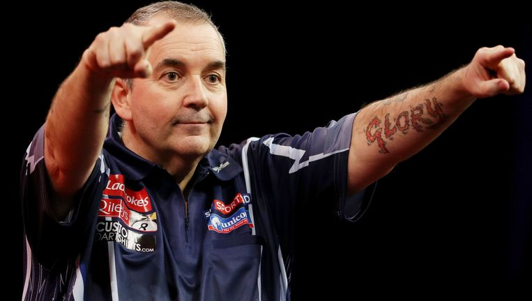 Phil 'The Power' Taylor. Beeld PHOTO_NEWS