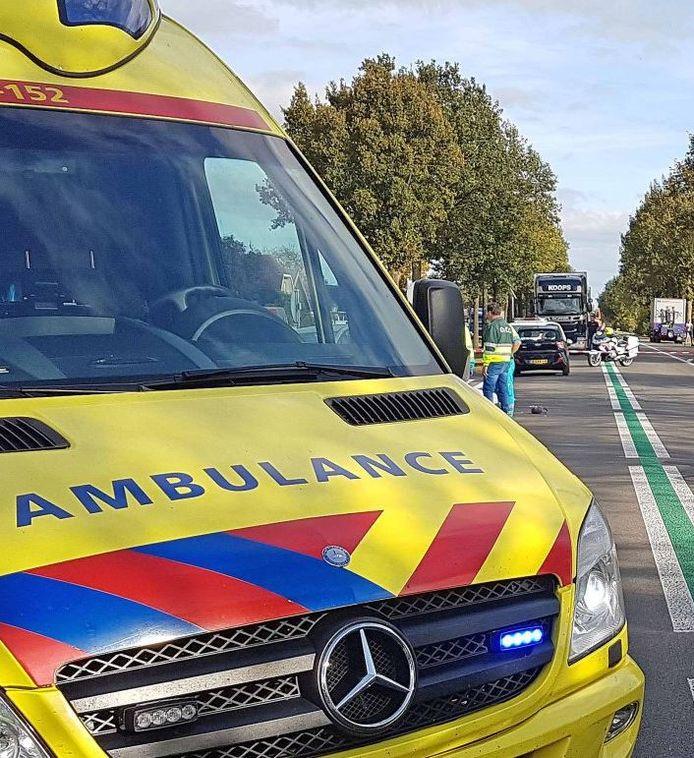 Het ongeluk vond plaats op de N377 bij Balkbrug.