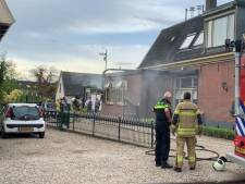 Brand bij bakkerij De Ambachterij in Schoonrewoerd