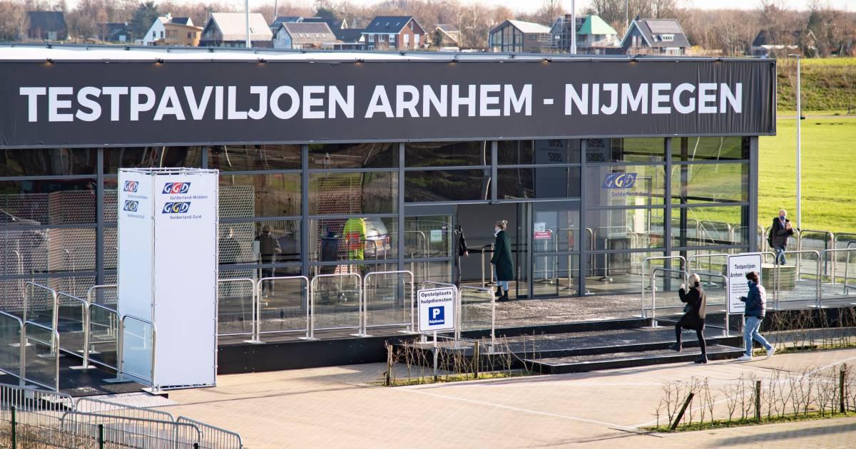 Debacle rond vlaggenschip onder de teststraten: megatestlocatie Arnhem-Nijmegen nog potdicht - De Gelderlander