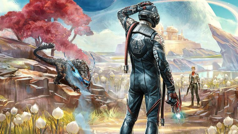 Affiche van 'The Outer Worlds' Beeld Private Division