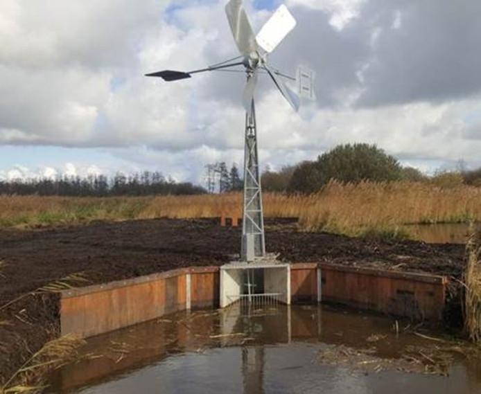 De buurt De Lanen in de Groote Wielen in Rosmalen krijgt een windwatermolen met een tiphoogte van negen meter.