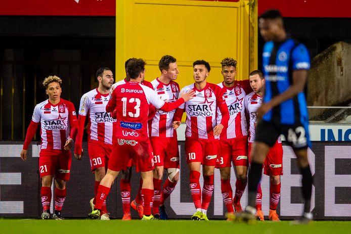 Moeskroen ging in maart nog winnen op Club Brugge.