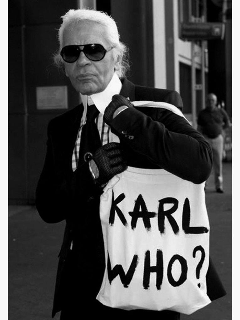 Karl Lagerfeld. Beeld rv
