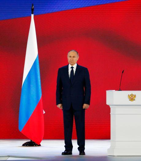 Poetin houdt zich in jaartoespraak op de vlakte over spanningen in Oekraïne