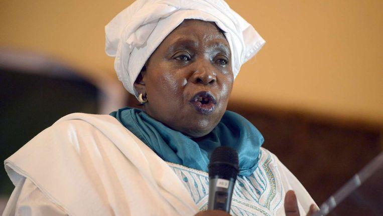 AU-voorzitter Nkosazana Dlamini Zuma Beeld afp