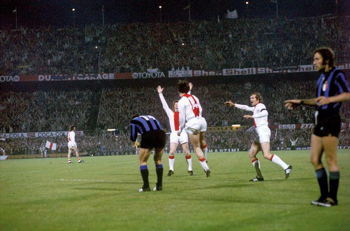 L'Ajax vinse la Coppa dei Campioni I il 31 maggio 1972 battendo 2-0 l'Inter al De Kuip di Rotterdam.