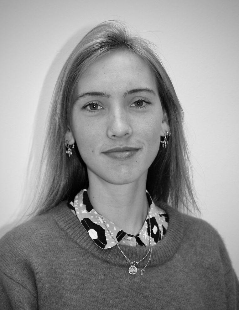 Sanne Vrijlandt, Derdejaarsstudent geneeskunde aan de Vrije Universiteit Amsterdam. Beeld