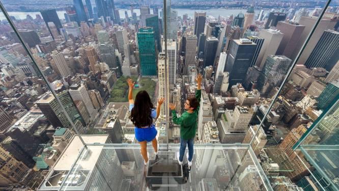 Glazen lift brengt je naar hoogste punt van nieuw spectaculair uitkijkplatform over New York City