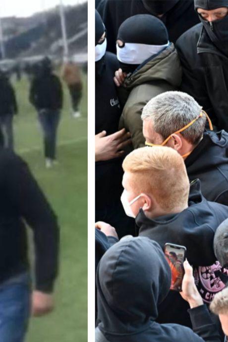 Supporters en colère, envahissement de terrain, intervention de Mehdi Bayat: fin de saison sous tension à Charleroi