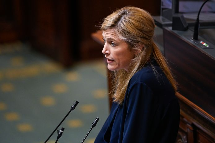 La ministre de l'Intérieur Annelies Verlinden.