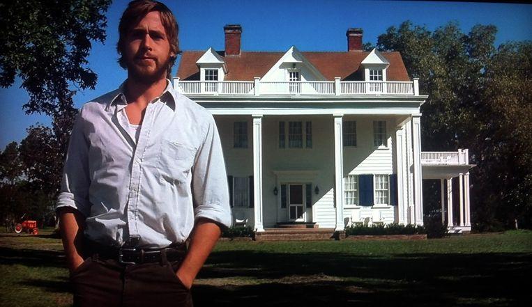 Ryan Gosling in The Notebook. Beeld
