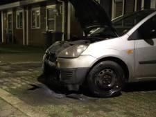 Auto loopt veel schade op bij brand in Culemborg