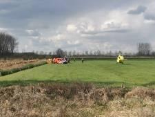 85-jarige man aangetroffen in sloot langs Kooiweg in Culemborg: hulp komt te laat