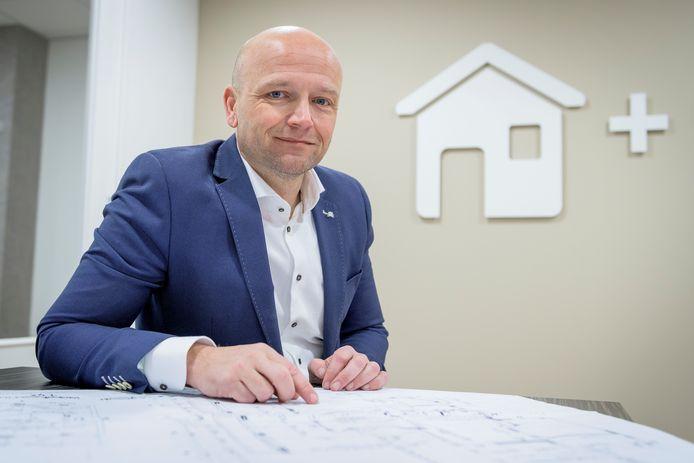 NVM Twente-voorzitter Peter Burbach.