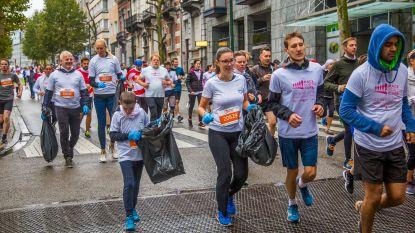 Uitgeregende Brussels Marathon doet het met zo weinig mogelijk plastic