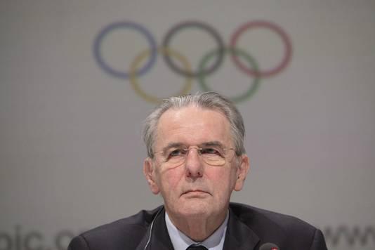 Jacques Rogge, voorzitter van het Internationaal Olympisch Comité.