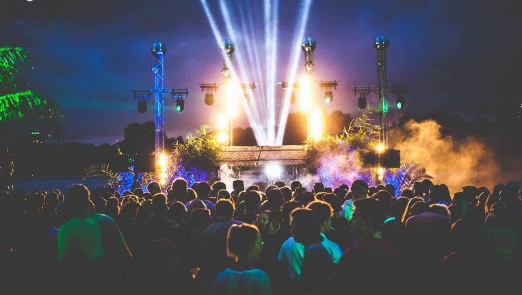 De Gaasperplas is dit weekend net Ibiza. Beeld Gaasper Pleasure