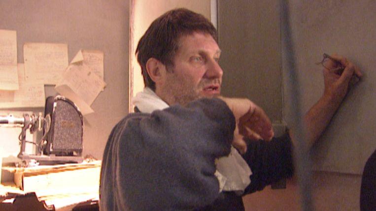 Robbe De Hert regisseert Gaston's War in 1997 Beeld RV