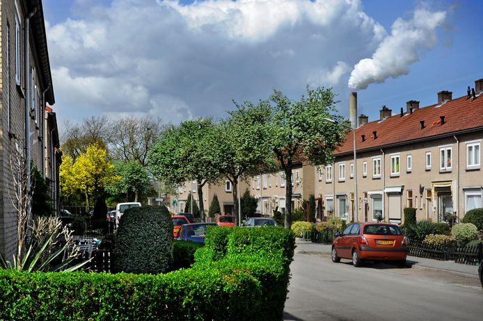 Sociale huurwoningen in de Berkelstraat in het Nijmeegse Waterkwartier.