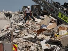 Wanhopige reddingsoperatie voor overlevenden na instorten flat Miami, nog 99 vermisten
