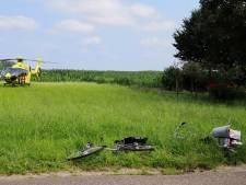 Fietsster (68) uit Oploo raakt ernstig gewond door aanrijding met vrachtwagen in Sint Anthonis